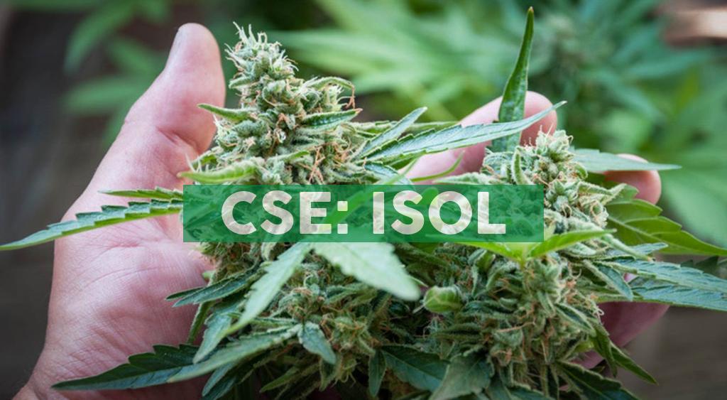 Isodiol International Inc. Comments on U.S. Farm Bill; Provides Update on Canadian Assets