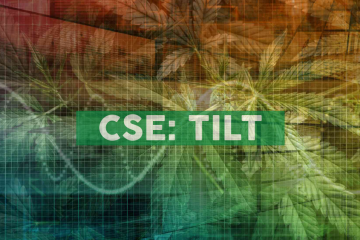 TILT Holdings Announces Forfeiture of 60 Million Stock Options from Founders