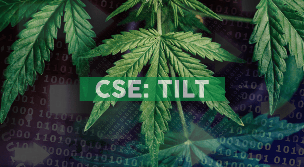 TILT Holdings' Blackbird Launches Innovative New All-in-One Cannabis Retail Platform for Sales, Home Delivery and Customer Management
