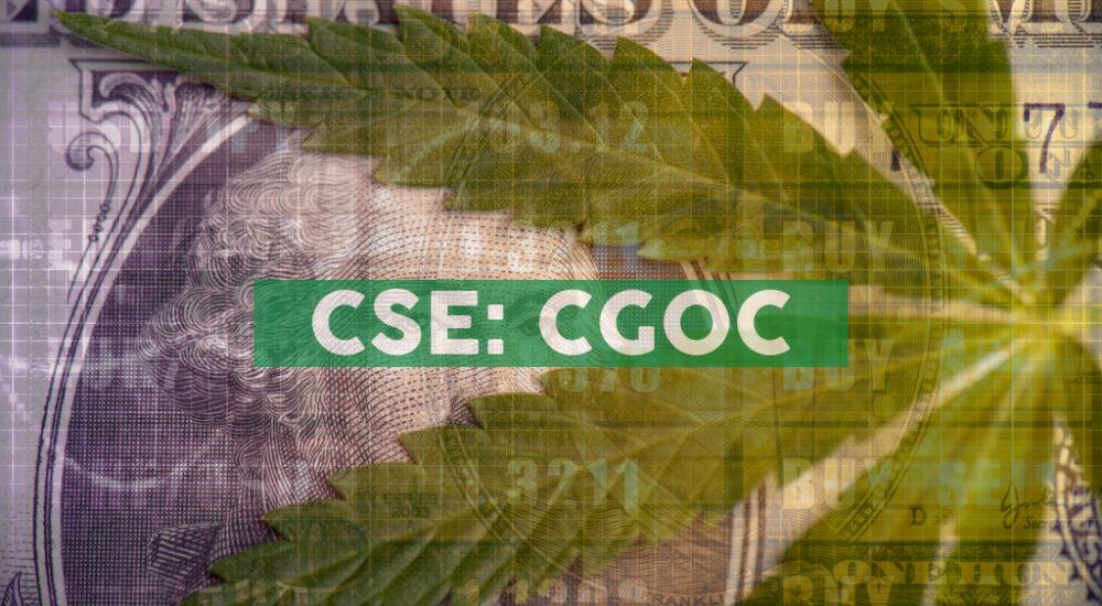 CGOC Announces Delayed Filing of Interim Financial Statements