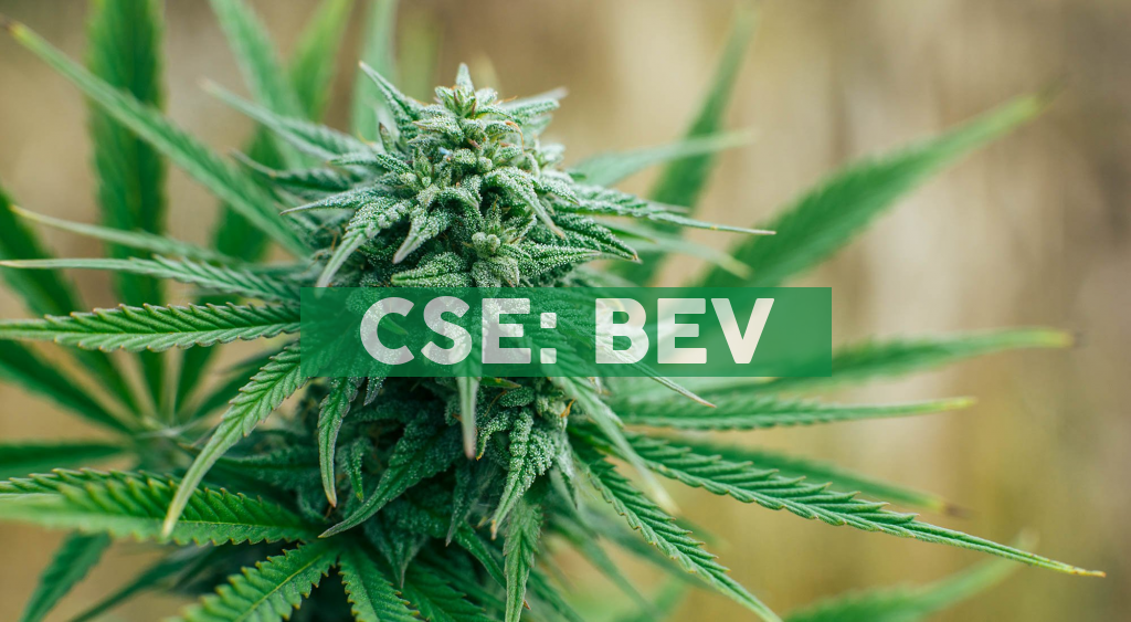BevCanna Named Exclusive Canadian White Label Manufacturer of Marianna Naturals' New CBD Wellness Beverage