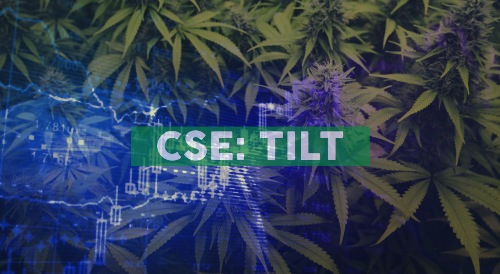 TILT Holdings to Report Second Quarter 2020 Results on Tuesday, August 25, 2020