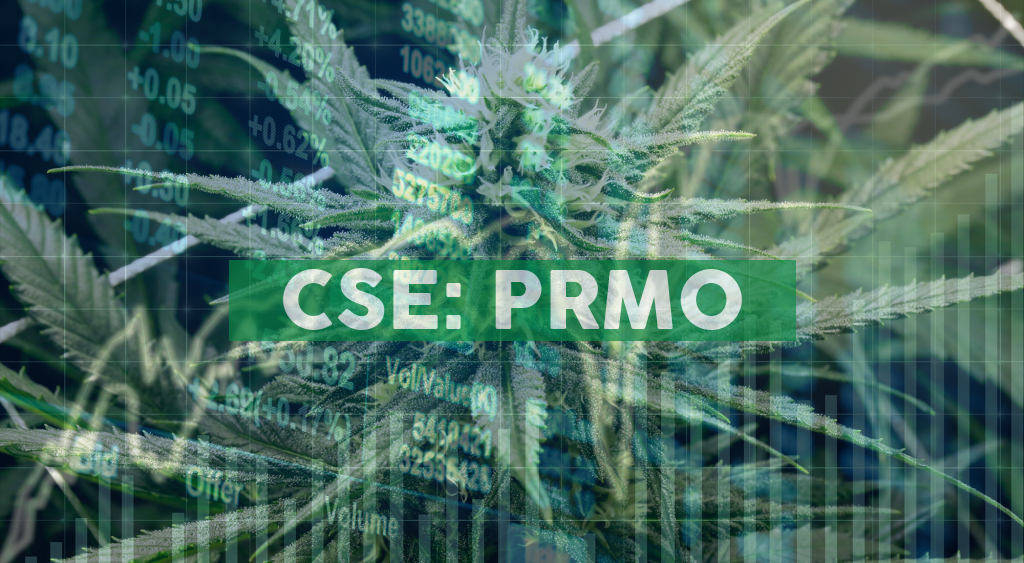 Primo Nutraceuticals Inc. receives Medical Device Establishment License (MDEL) from Health Canada