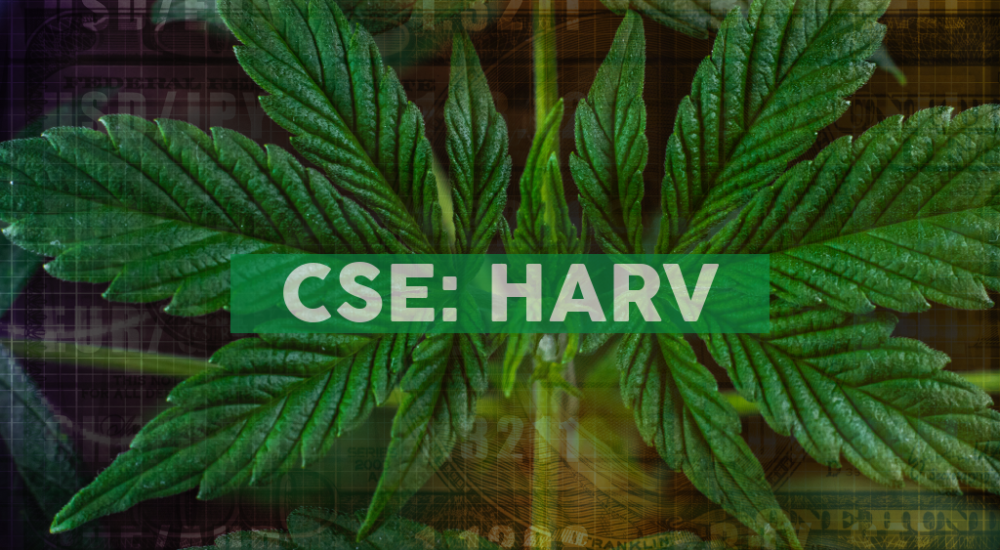 Harvest Health & Recreation Inc. Announces C$30,000,000 Million Bought Deal Financing