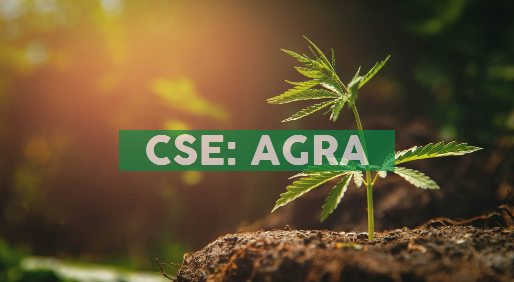 AgraFlora Organics Receives Analytical Equipment for its Winnipeg Edibles Manufacturing Facility